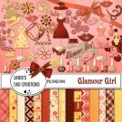 Glamour Girl Digital Scrapbooking Kit
