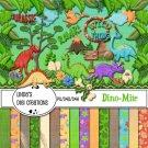 Dino-Mite Digital Scrapbooking Kit