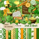 Irish at Heart (Digital Scrapbooking Kit)