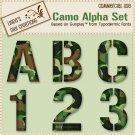 Camo Alpha Set