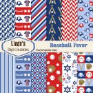 Baseball Fever (Digital Paper Pack)