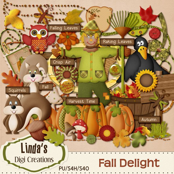 Fall Delight (Digi Scrap Kit)