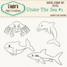 Under The Sea #1 (Digi Stamp Set)