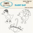 Rainy Day (Digi Stamp Set)