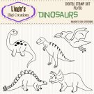 Dinosaurs (Digi Stamp Set)