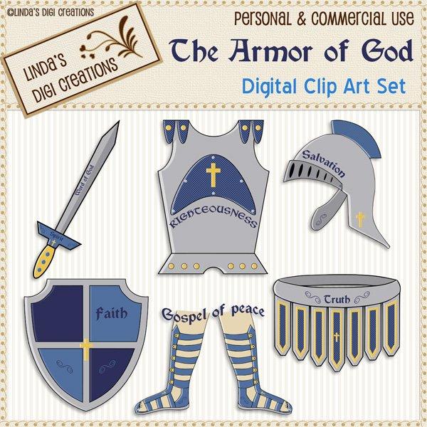 The Armor of God (Clip Art Set)