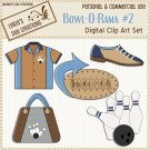 Bowl-O-Rama #2 (Clip Art Set)