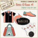 Bowl-O-Rama #1 (Clip Art Set)