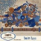 Denim Days (Digi Scrap Kit)