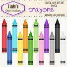 Crayons (Clip Art Set)
