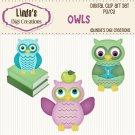 Owls (Clip Art Set)