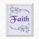 Faith (Color) Printable Wall Art
