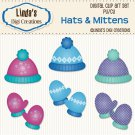 Hats & Mittens (Clip Art Set)