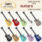 Guitars (ClipArt Set)