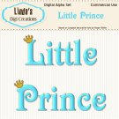 Little Prince Digital Alpha Set