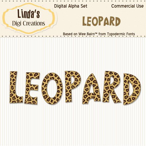 Leopard Digital Alpha Set