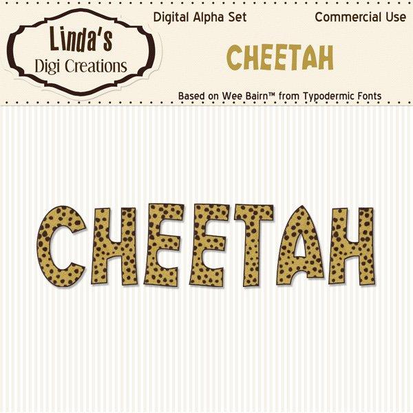 Cheetah Alpha Set