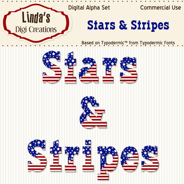 Stars & Stripes Alpha Set