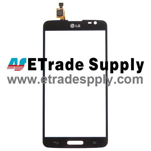 OEM LG G Pro Lite D680 Digitizer Touch Screen - Black - With LG Logo