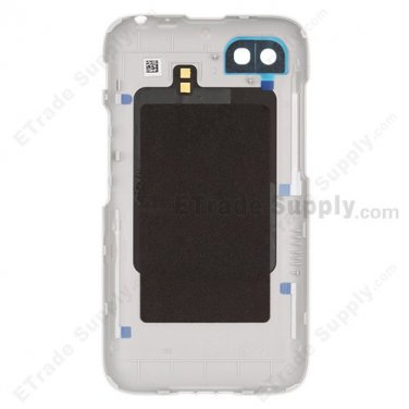 OEM BlackBerry Q5 Battery Door - White