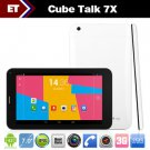 Cube U51GT W Talk 7X Android Tablet PC 7 inch Phone Call MTK8312 Dual Core 1.3GHz GPS Bluetooth FM.