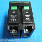 30 AMP 2 Pole Double Pole Bryant Type BR BR-230 Same As Westinghouse Murray
