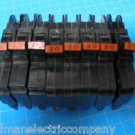 Lot of 8 FEDERAL PACIFIC Stab-Lok FPE 20 AMP 1 Pole Breakers Copper Terminals
