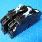 Set Of TWO 15 AMP Zinsco,GTE Sylvania, 2 Pole Circuit Breaker Type R-38 Chipped