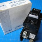 NEW 30 AMP PUSHMATIC ITE Siemens 2 Pole Breaker P230 fits Gould Brand too
