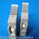 Set Of 2 Square D 1-20 & 1-15 AMP TRILLIANT 1Pole Type SDT120 SDT115 Breaker