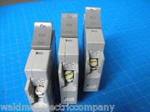 Set Of 3 Square D 1-20 & 2-15 AMP TRILLIANT 1Pole Type SDT120 SDT115 Breaker