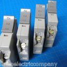 Set Of 4 Square D 2-20 & 2-15 AMP TRILLIANT 1Pole Type SDT120 SDT115 Breaker