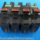 "Lot of 4 FEDERAL PACIFIC Stab-Lok FPE 20 AMP Standard 1"" size 1 Pole Breakers"