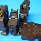 """Lot of 4 FEDERAL PACIFIC FPE 20 Amp single pole 1"""" wide Breakers GUARANTEED"""