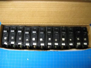 20 Amp 1 Pole General Electric GE Breaker