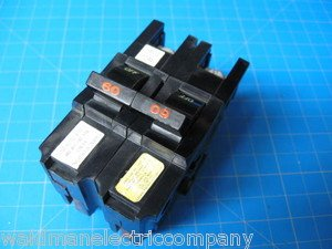 60 AMP FEDERAL PACIFIC FPE Double Pole Wide 2 Pole Breaker Type NA260