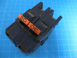 "FEDERAL PACIFIC Stab-Lok FPE  30 Amp 2 Pole 2"" Wide BREAKER type NA"