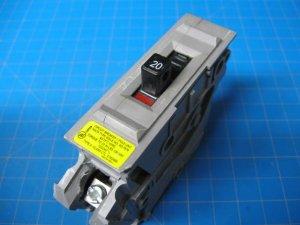 20 AMP WADSWORTH 1 Pole Breaker (Gray Plastic)