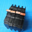 Set Of 4 15 & 20 AMP Single Pole Federal Pacific FPE Breakers Chipped