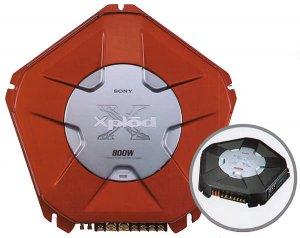 Sony Xm-d400p5 Subwoofer Mono Amp