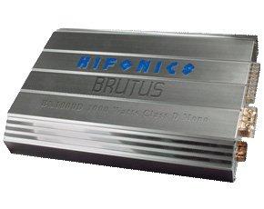 Hifonics Bx 500d - Brutus 125watts Mono Power Amplifier