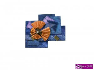 Butterfly Fans Blue And Orange