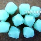 6 5mm Swarovski 5301 Crystal Bicones -- Mint Alabaster