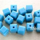 3 4mm Swarovski 5601 Crystal Beads -- Turquoise