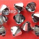6 5mm Swarovski Crystal Bicones -- Indian Sapphire CAL