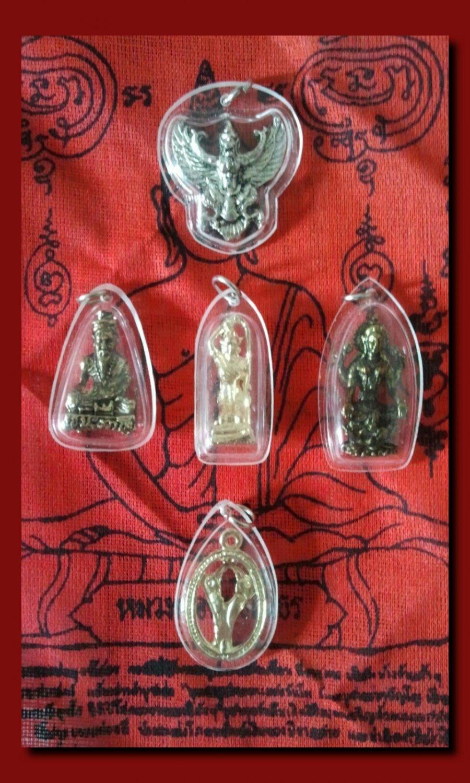 **BiG SET Rare Antique Amulet PendantS (5 Pieces) ***