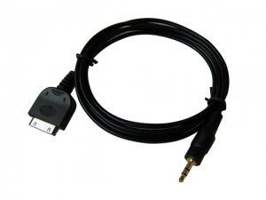 iPOD DOCK LINE OUT CABLE FOR HEADPHONE AMPLIFIER PLUG (1.5 meters cable)