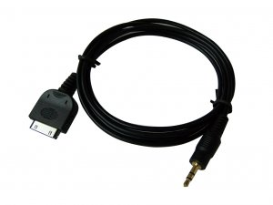 NEW iPOD DOCK CABLE LINE OUT TO 1/8 HEADPHONE AMPLIFIER (1.5 Meters cable)