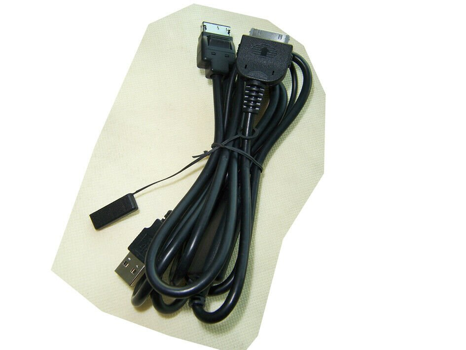 OEM Pioneer AVH-P8400BH CD-IU201S CDIU201S USB Adapter Cable for Apple iPod iPhone 4s