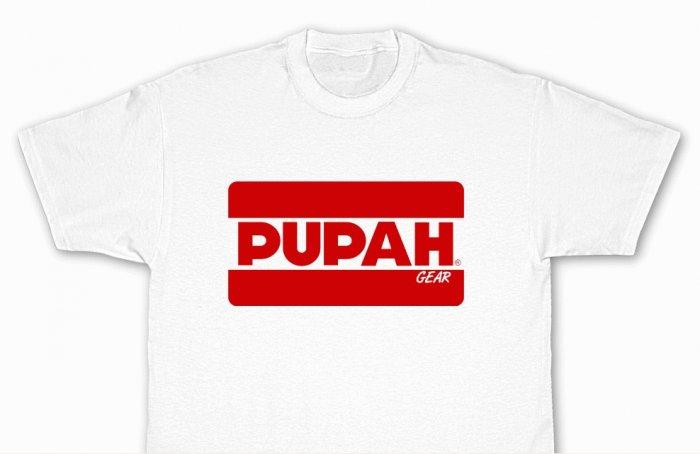 PUPAH White T-Shirt-Official